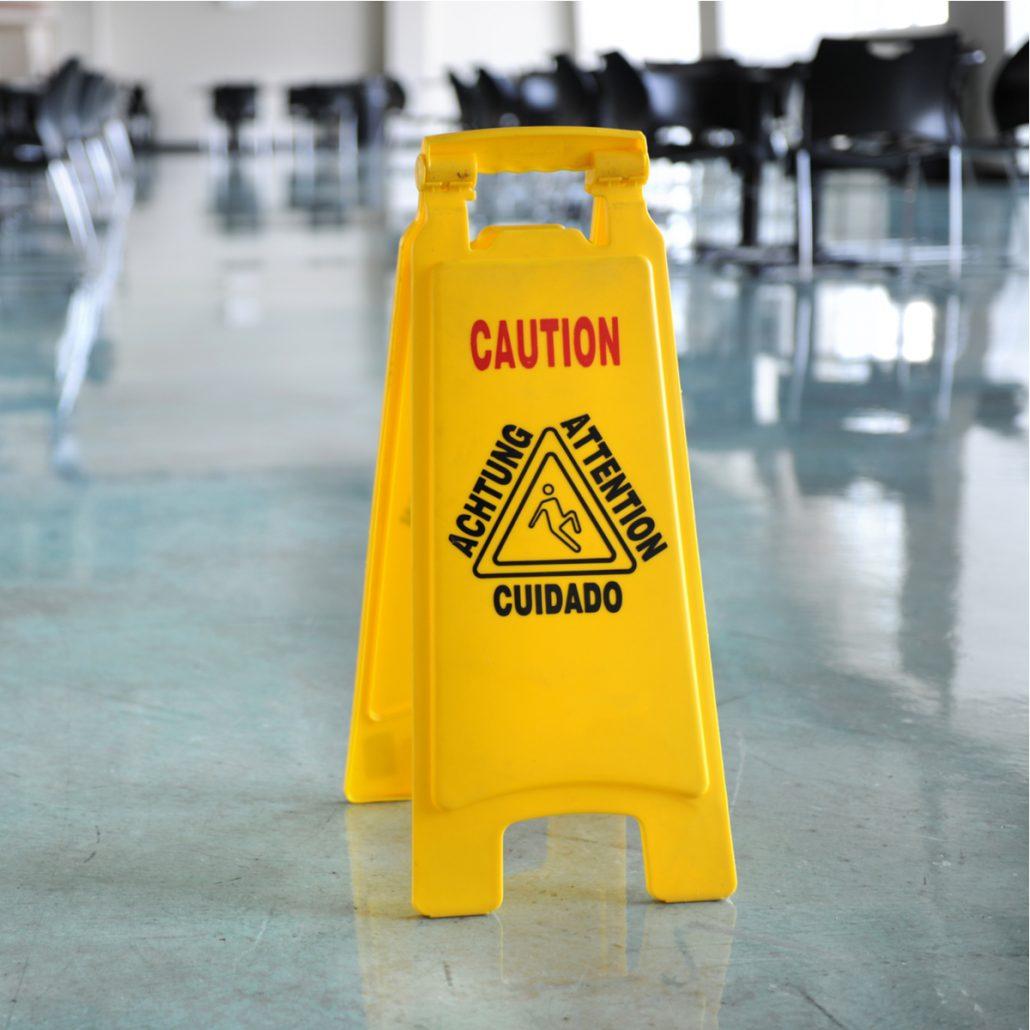 slip hazards in the workplace